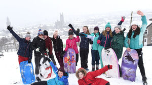 Pics from Cork's snow day