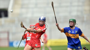 Thompson points way for rampant Rebels in camogie rout in the Páirc