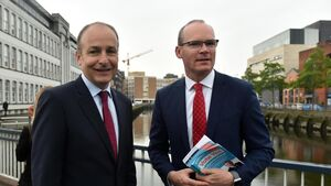 Micheál and Simon united for 'yes' vote