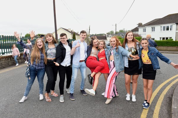 Ed Sheeran fans from Douglas, Bandon and Ballinlough. Pic; Larry Cummins