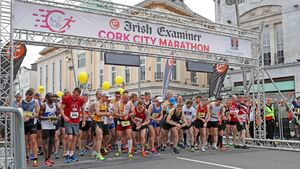 The course record is broken as the Irish Examiner Cork City Marathon is another huge success