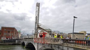 Second phase of restoration work on St Patrick's Bridge to commence