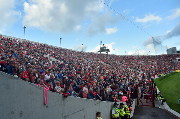 The packed ground at Páirc Uí Chaoimh. Picture: Eddie O'Hare