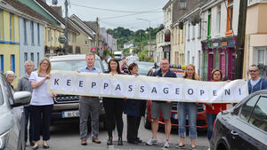 Aim to minimise road disruption in Passage West