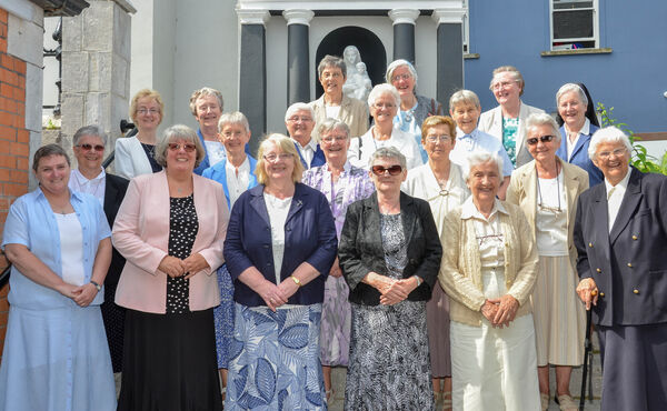 Members of the Ursuline Community who were present at the official presentation of the Nano Nagle letters by the Ursulines to the Presentation Sisters at Nano Nagle Place. Picture: Howard Crowdy