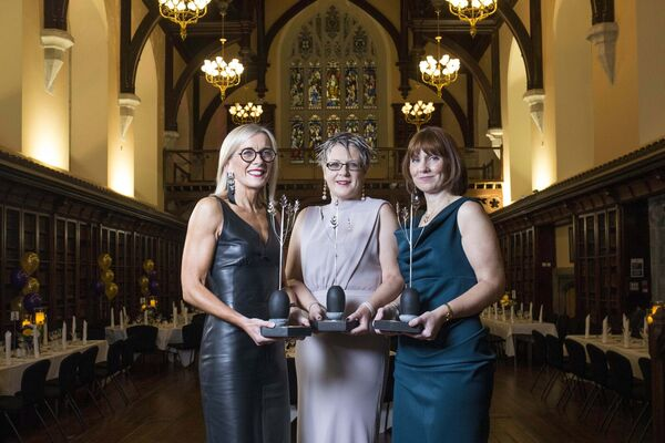 I Wish Founders, Gillian Keating, a partner in Ronan Daly Jermyn Solicitors, Caroline O'Driscoll, a Tax Partner with KPMG Cork and Ruth Buckley, Deputy Chief Executive and Head of ICT and Business Services for Cork City Council; the founders of I WISH. Picture: Clare Keogh