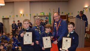 Cork Scouts: High honour for Blackrock Scout leaders