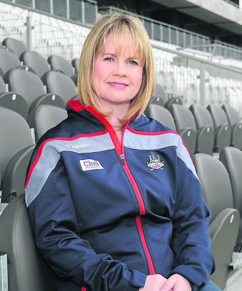 Tracey Kennedy incoming Chairperson of Cork County Board pictured at Páirc Uí Caoimh. Picture: George Hatchell