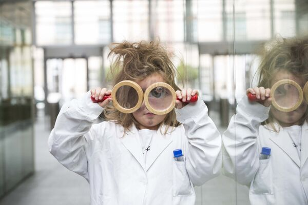 Schoolgirl Emma Dunphy pictured at the launch of the Cork Science Festival. Picture: Clare Keogh