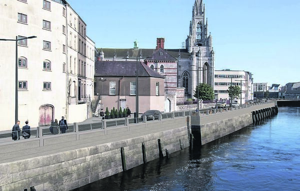 Flood Defence Public Realm upgrade for Morrison's Island