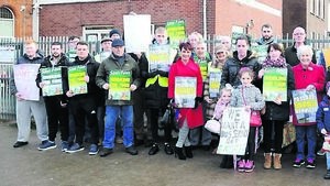 Passage West residents protest over bus service