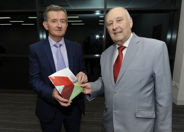 Richard Murphy and Frank Murphy. at the launch of the Cork GAA Strategic Plan 2018-2020. Picture: Gavin Browne