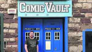 This comic business is no joke, enter the Vault and you'll see why