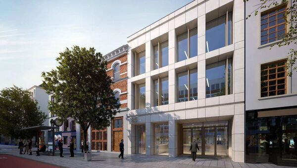 NEW €30m office scheme proposed by John Cleary Developments for Cork city' South Mall.