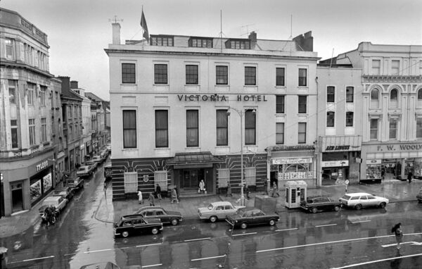 The Victoria Hotel pictured in 1970