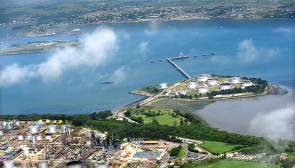 The Irving Oil refinery at Whitegate. Oil traffic increased by 2% last year. Picture: Denis Scannell