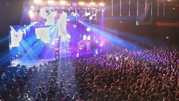 The excitement... fans reaction when Kodaline take to the stage at their sell-out concert at the INEC, Killarney.