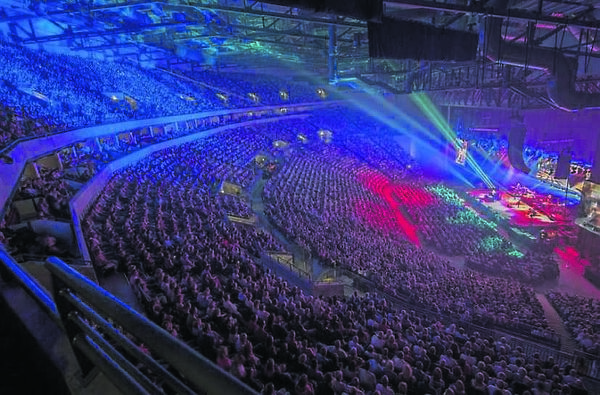 BAM was recently been involved in the development of the 13,500-capacity Leeds Arena for Leeds City Council.