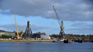 Iconic Verolme cranes in Cork Harbour come down