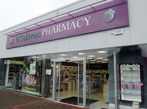 O'Sullivan's Pharmacy, South Douglas Road. Picture: Denis Minihane.