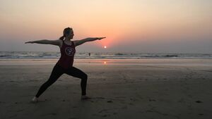 Yoga took me 8,000km to Goa