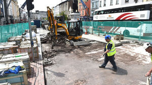 Taxi uproar in Cork as ranks closed by road works