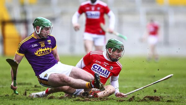 Aidan Walsh in action for Cork against Wexford in the league. Picture: INPHO/Ken Sutton