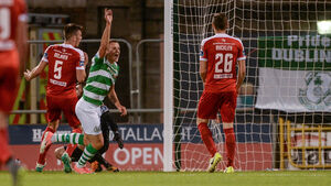 Shamrock Rovers send ten man Cork City crashing out of EA Sports Cup