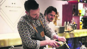 Barman Andy puts Cork on world map