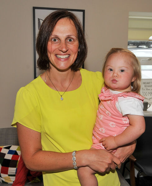 Lorna and Poppy Kingston from Kilbrittain, attending one of the coffee mornings at the Down Syndrome Centre Cork on Forge Hill.Picture: David Keane.