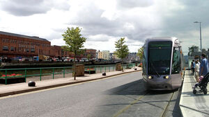Plans for a light rail system for city dashed