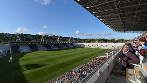 O'Leary was the Valleys hero in front of incredible 10,749 fans at the new Páirc