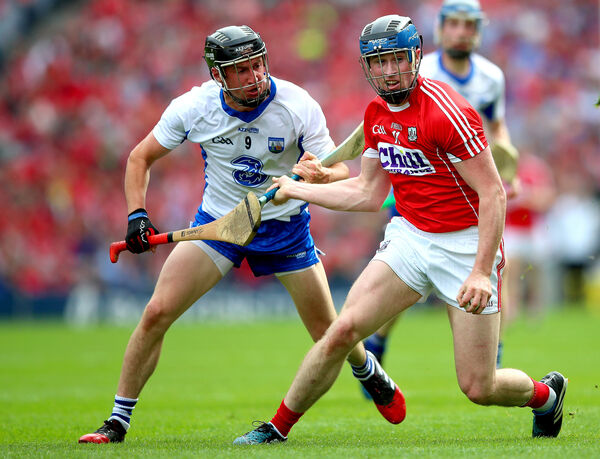 Waterford's Conor Gleeson and Conor Lehane. Picture: INPHO/James Crombie