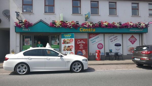 The Centra in Watergrasshill, which was one of three shops hit by raiders yesterday. Pic Roisin Burke