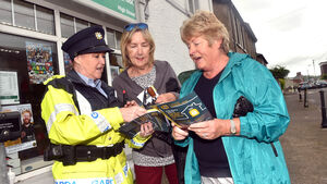 Gardaí out in force to combat burglaries in locality