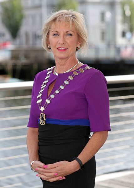 Lions Clubs of Ireland, District 133, District Governor, Teresa Dineen. Picture: Jim Coughlan.