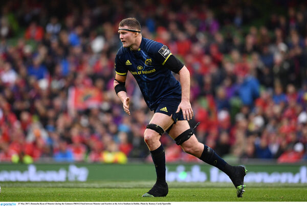 Donnacha Ryan of Munster during the Guinness PRO12 final. Picture: Ramsey Cardy/Sportsfile