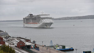 First of 65 cruise liners to come to Cork this year docks in Cobh on Monday