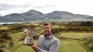 Douglas golfer O'Keeffe is only the second Cork native to land famous Amateur Open title