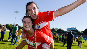 The Cork ladies footballers always seem to win by 'that' point