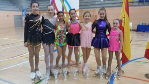 Cork's figure skaters roll with the best in Madrid