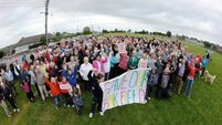 Save the Tank Field campaigner says 'reuse old school and save €5m'