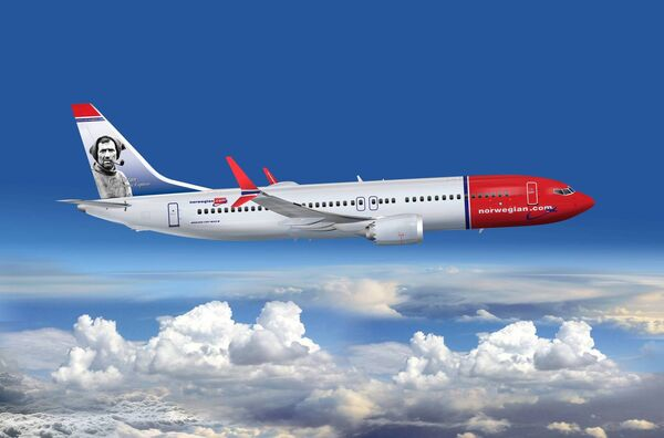 Tom Crean will appear on the tail fin of the Norwegian planes operating the transatlantic route from Cork.