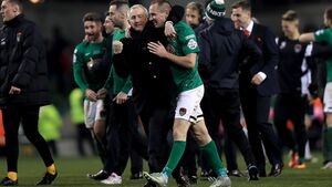 Cork City boss Caulfield says Colin Healy will make a great manager