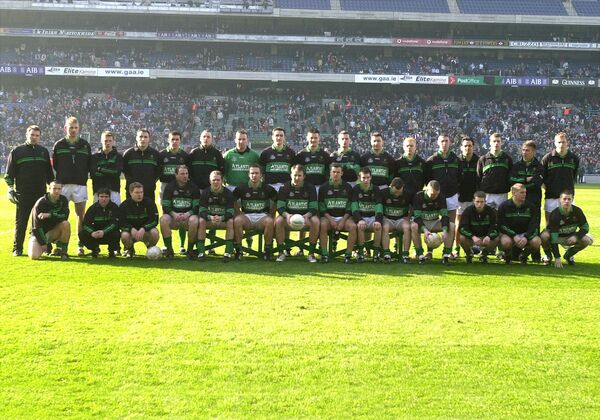 The Nemo Rangers who defeated Crossmolina in the 2003 AIB All-Ireland club championship final. 	 Picture: Eddie O'Hare
