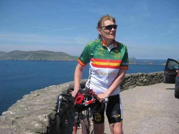 Danny Scanlon's aunt Marian, who he is rowing in memory of, in aid of Marymount.