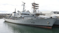 Watch: Decommissioned naval vessel LÉ Aisling sold for a 'disappointing' €110K