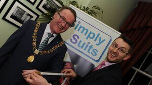 Cork suit company makes sure Lord Mayor looks sharp for White House trip