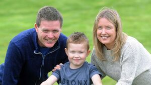Aidan's transplant new lease of life for family, says father