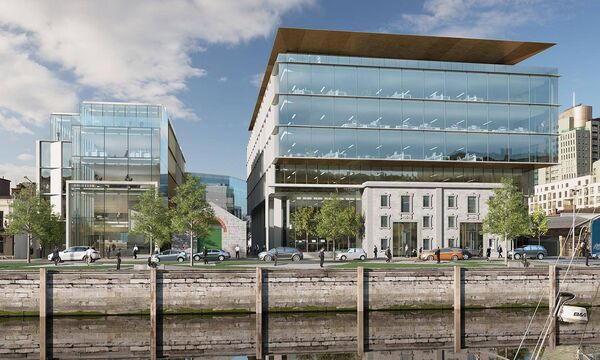 The proposed, €90m Navigation Square, Cork.